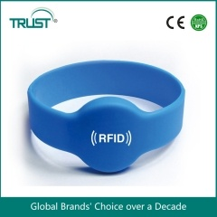 wristband chip rfid impermeável TK4100 125khz do silicone